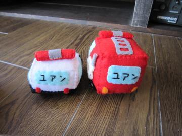 パトカー・消防車