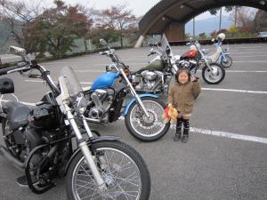 バイクと★