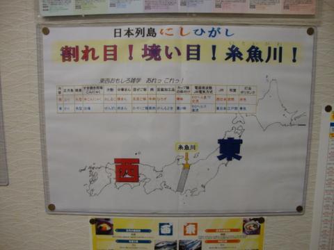 日本の東西の分かれ目