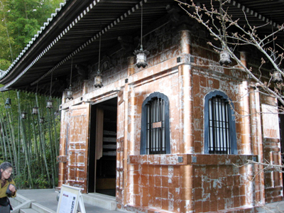 鎌倉・長谷寺の紅葉