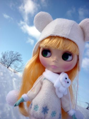 雪がとっても似合う!