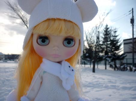 寒くっても平気だよ~ん!