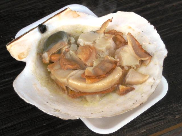 ホタテ焼き2