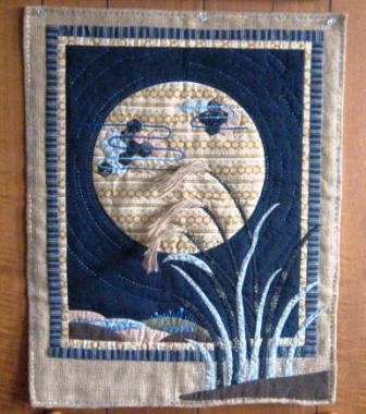 月見キルト1