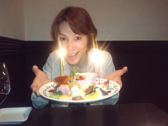 2010 誕生日 クロチェッタ ケーキ友麻