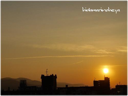 夕陽110803
