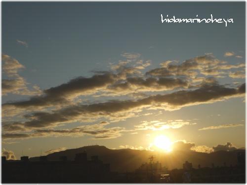 夕陽110924