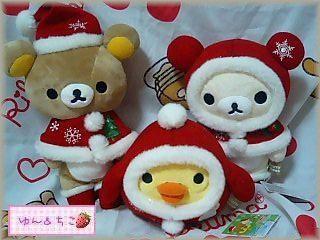 クリスマスぬいぐるみ★リラックマ★-4
