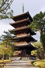 仁和寺5重の塔のプロ