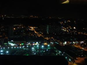 ヒルトンの夜景