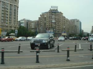 ブカレストの街並み