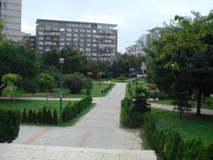 教会裏の公園