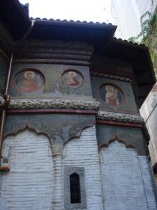 スタヴロポレオス教会外側