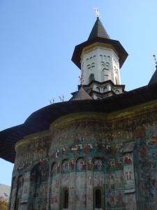 スチェヴィツァ修道院北面2