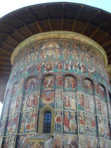 スチェヴィツァ修道院東面2