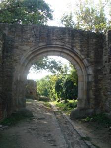 大城塞のアーチ