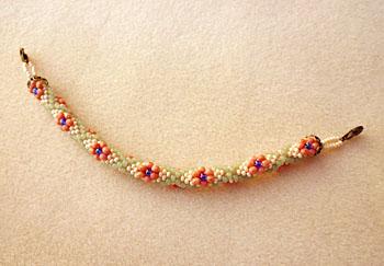 お花柄羽織紐1
