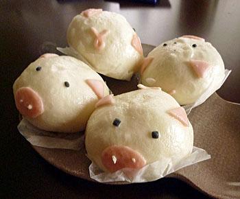 ミニ豚まん1
