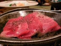 いわき温泉-夕食のお肉