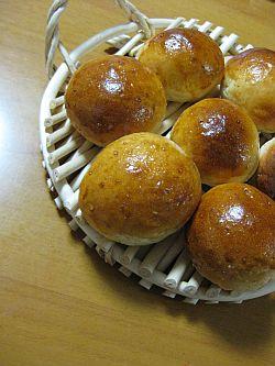 練乳パン。