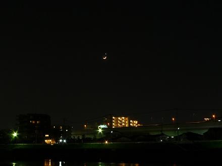 月と金星2010