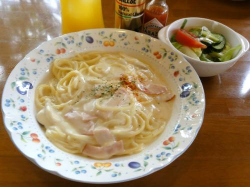 クリームスパゲティ