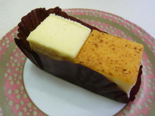 北海道産チーズブリュレ&N.Y.チーズケーキ
