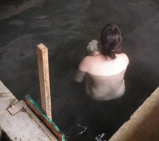 2010年3月 屈斜路湖湯巡り 和琴共同浴場⑨