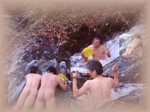2010年10月11日然別峡オフ会テムジンの湯湯滝4