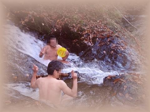 2010年10月11日然別峡オフ会テムジンの湯湯滝3