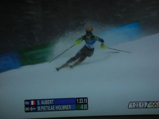 バンクーバーオリンピック 女子回転②