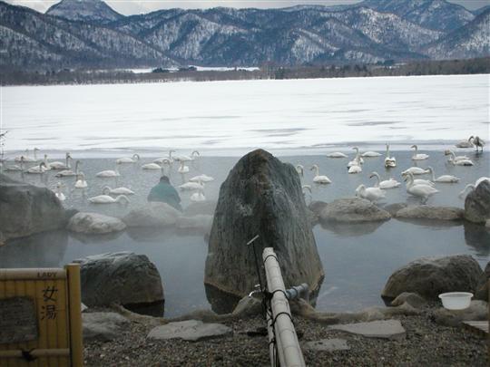 2010年3月 屈斜路湖湯巡り コタンの湯②