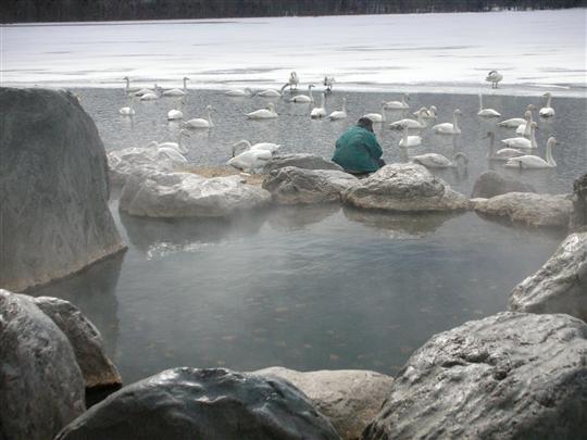 2010年3月 屈斜路湖湯巡り コタンの湯⑨