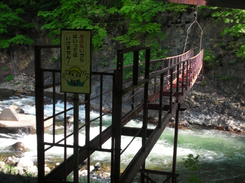 2010年6月 横山温泉跡1