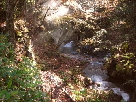 2010年10月10日然別峡テムジンの湯7