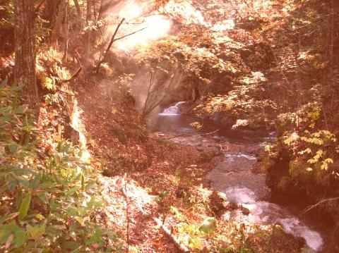 2010年10月11日然別峡オフ会テムジンの湯12