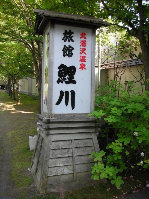 2010年 北湯沢温泉 鯉川旅館1