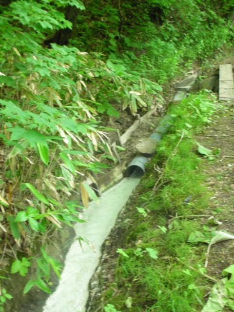 2010年6月 大船下の湯 源泉10
