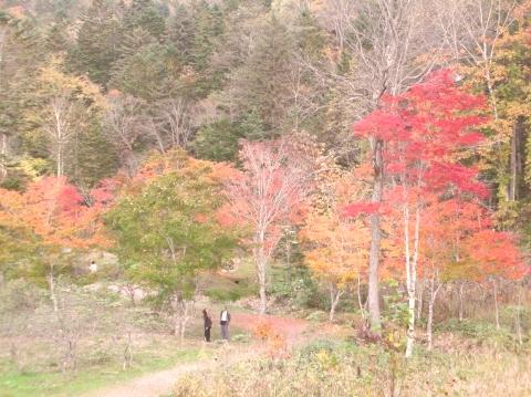 2010年10月11日然別峡オフ会福原山荘3