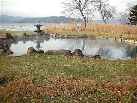 2010年11月 屈斜路湖 池の湯1
