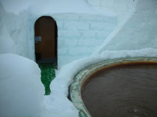 第一回秘湯研究会 然別コタン氷上露天風呂⑮