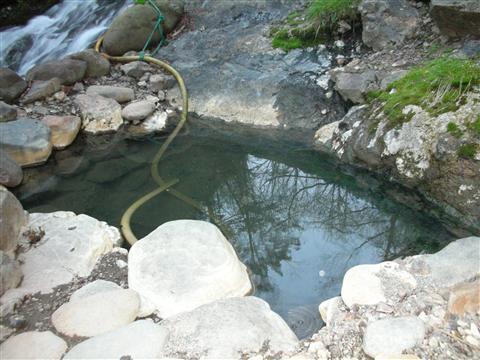 2010年6月然別峡 湯めぐり2