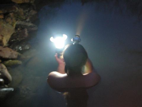 2010年6月 然別峡④チニカの湯(入浴)