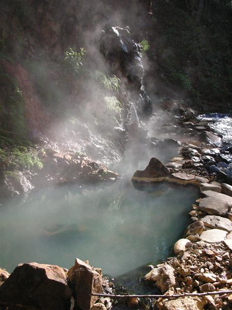 2010年6月然別峡 ピラの湯2
