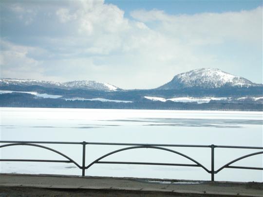 2010年3月 屈斜路湖湯巡り 奥の湯①