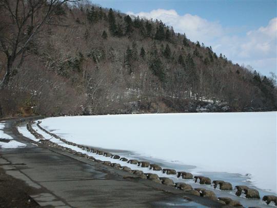 2010年3月 屈斜路湖湯巡り 奥の湯②
