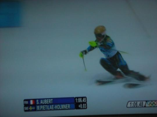 バンクーバーオリンピック 女子回転⑨