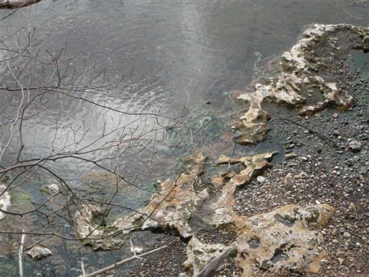 2010年3月 屈斜路湖湯巡り 奥の湯⑥