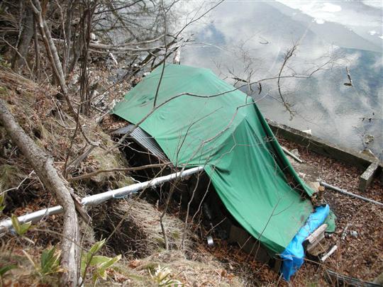 2010年3月 屈斜路湖湯巡り 奥の湯⑦