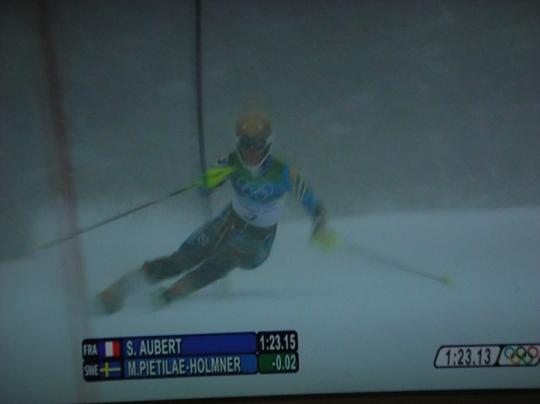 バンクーバーオリンピック 女子回転⑩